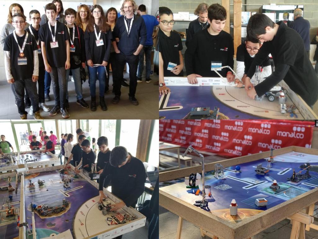 Veure Participació a la First Lego League de l'equip Tic Team Monalco